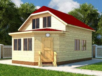 Дом из бруса 10