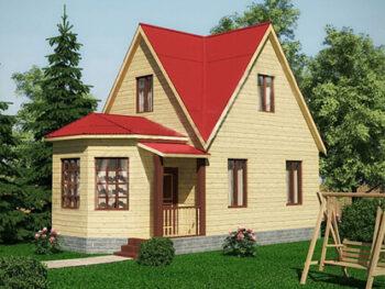 Дом из бруса 12