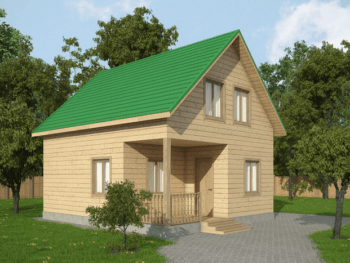 Дом из бруса 1