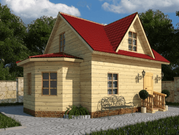 Дом из бруса 8