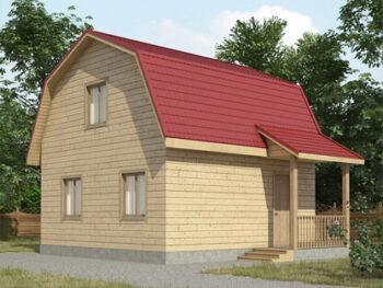 Дом из бруса 3