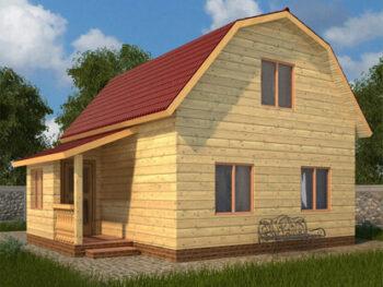 Дом из бруса 4