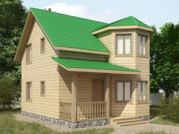 Дом из бруса 5