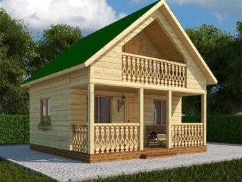 Дом из бруса 6