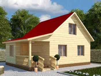 Дом из бруса 7
